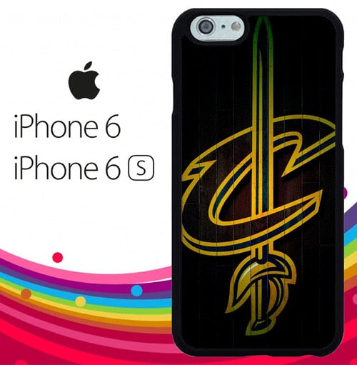 Cleveland Cavaliers Symbol Z5156 hoesjes iPhone 6, iPhone 6S