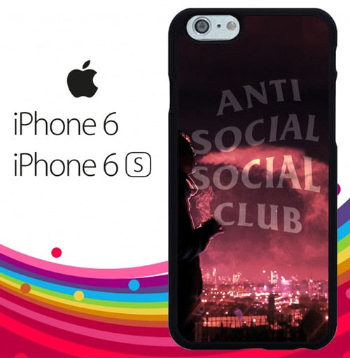 Anti Social Social Club Z5392 hoesjes iPhone 6, iPhone 6S