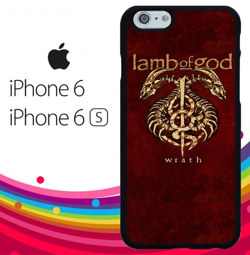 LAMB OF GOD METAL BAND Z5423 hoesjes iPhone 6, iPhone 6S