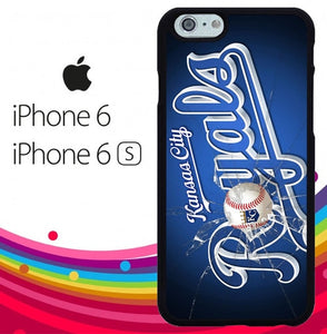 kansas city royals Z7160 hoesjes iPhone 6, iPhone 6S