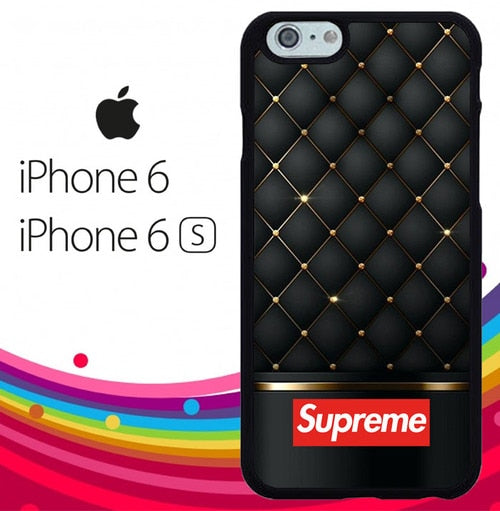 Supreme Gold Black Z4120 hoesjes iPhone 6, iPhone 6S