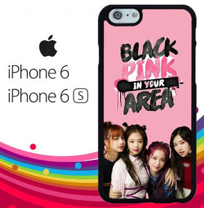 Blackpink In Your Area Z4138 hoesjes iPhone 6, iPhone 6S