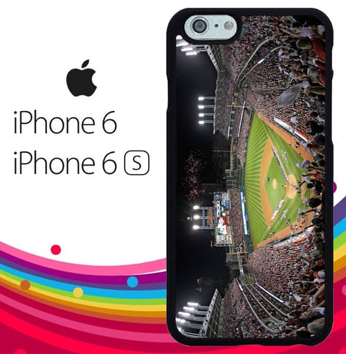 Cleveland Indians Z4534 hoesjes iPhone 6, iPhone 6S