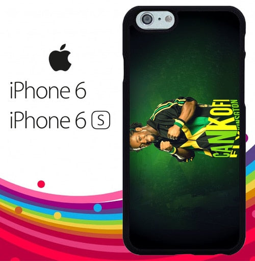 kofi kingston Z4589 hoesjes iPhone 6, iPhone 6S