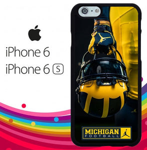 Michigan Football Z4911 hoesjes iPhone 6, iPhone 6S