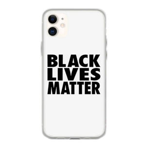 black lives matter black classic iphone 11 hoesjes