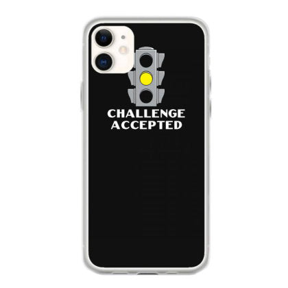 challenge accepted stoplight iphone 11 hoesjes