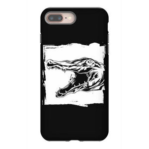 crocodile reptile alligator iphone 8 plus hoesjes