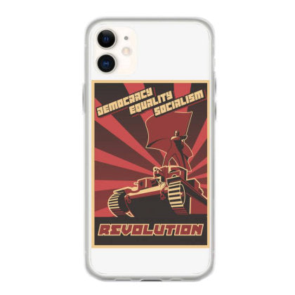 democracy equality socialism revolution iphone 11 hoesjes