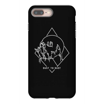 dust to dust skull iphone 8 plus hoesjes