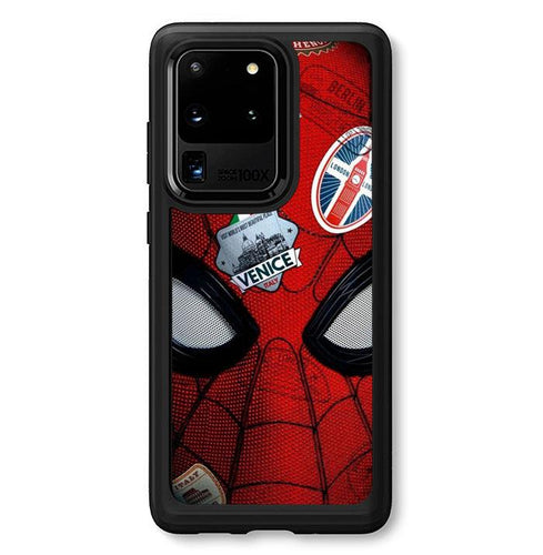 coque custodia cover fundas hoesjes j3 J5 J6 s20 s10 s9 s8 s7 s6 s5 plus edge B35486 Spiderman Far From Home FJ0960 Samsung Galaxy S20 Ultra Case