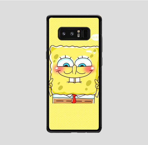 coque custodia cover fundas hoesjes j3 J5 J6 s20 s10 s9 s8 s7 s6 s5 plus edge B36118 Spongebob FJ0985 Samsung Galaxy Note 8 Case