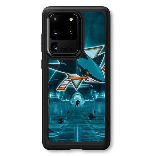 coque custodia cover fundas hoesjes j3 J5 J6 s20 s10 s9 s8 s7 s6 s5 plus edge B34006 San Jose Shark FJ1017 Samsung Galaxy S20 Ultra Case