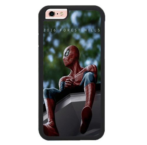 SPIDER MAN J. COLE FOREST HILLS X00154 hoesjes iPhone 6, iPhone 6S