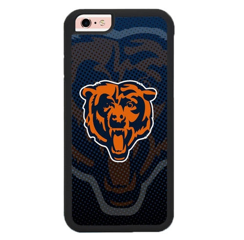Chicago Bears X00386 hoesjes iPhone 6, iPhone 6S