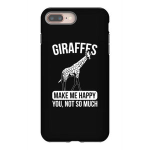 giraffes safari animal giraffe iphone 8 plus hoesjes