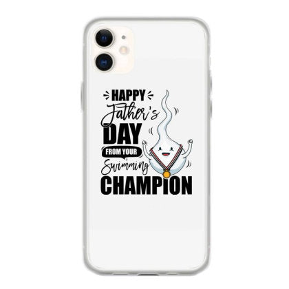 happy fathers day from your swimming champion iphone 11 hoesjes