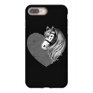 horse cute pet pony iphone 8 plus hoesjes