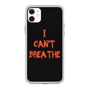 i can t breathe typo iphone 11 hoesjes