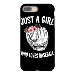 just a girl who loves basketball iphone 8 plus hoesjes