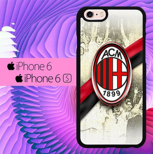 AC Milan Wallpaper L0105 hoesjes iPhone 6, iPhone 6S