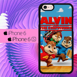 alvin and chipmunks L0312 hoesjes iPhone 6, iPhone 6S