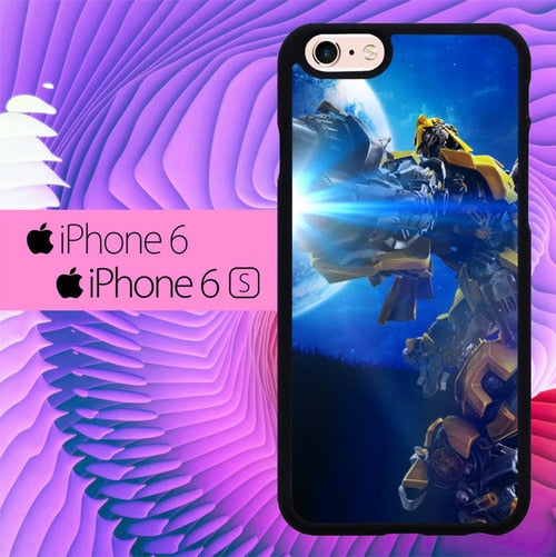 transformer bumble bee L0313 hoesjes iPhone 6, iPhone 6S