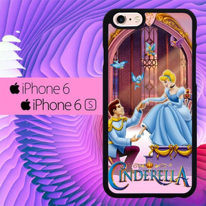 cinderella and prince L0434a hoesjes iPhone 6, iPhone 6S