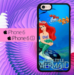 the little mermaid L0447a hoesjes iPhone 6, iPhone 6S