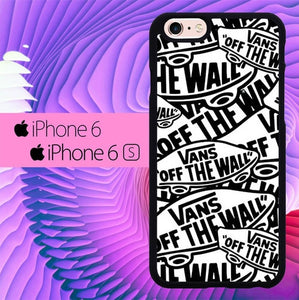 Vans Off The Wall Logo L0458 hoesjes iPhone 6, iPhone 6S