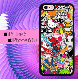 Sticker Wallpaper L0571 hoesjes iPhone 6, iPhone 6S