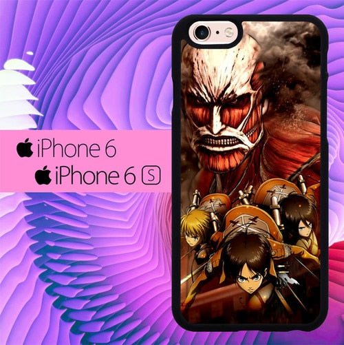 attack on titan collosium titan L0602a hoesjes iPhone 6, iPhone 6S