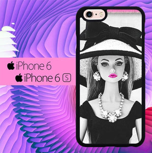Barbie Glamours L0603 hoesjes iPhone 6, iPhone 6S