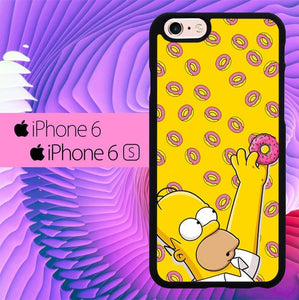 the simpson donuts L0604a hoesjes iPhone 6, iPhone 6S