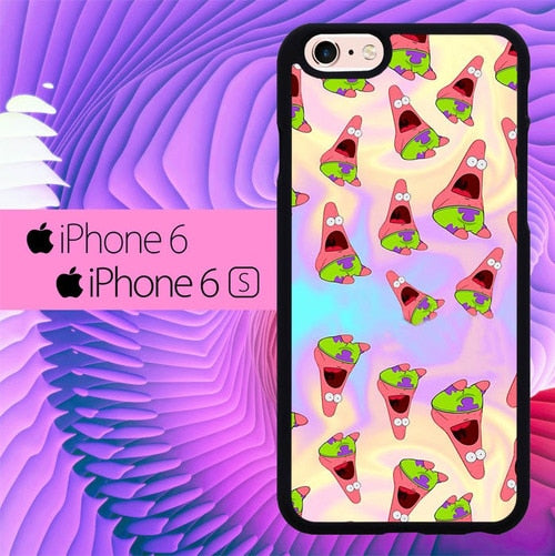 Patrick Swag Pattern L0643 hoesjes iPhone 6, iPhone 6S