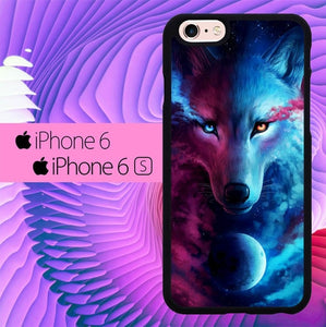 Wolf Galaxy L0654 hoesjes iPhone 6, iPhone 6S