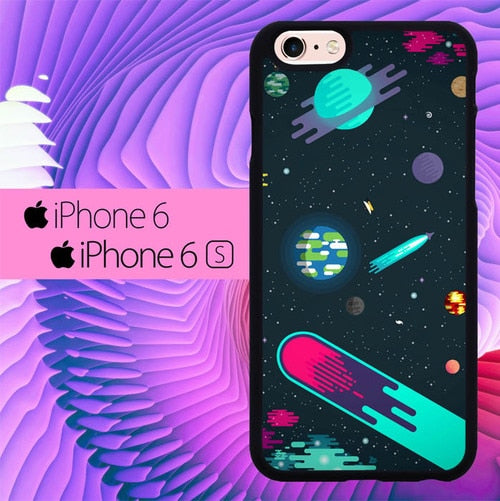 Sharing Space Beautifull L0690 hoesjes iPhone 6, iPhone 6S