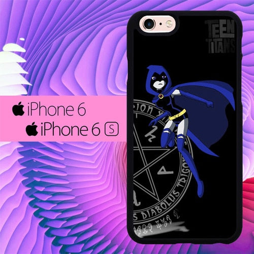 teen titans ravel L1009 hoesjes iPhone 6, iPhone 6S
