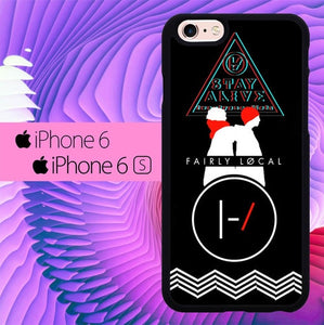 twenty one pilots stay alive L1055 hoesjes iPhone 6, iPhone 6S