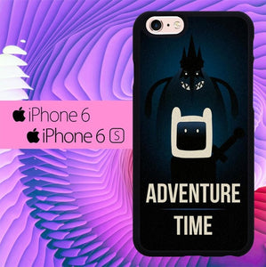 Adventure Time Dark L1120 hoesjes iPhone 6, iPhone 6S