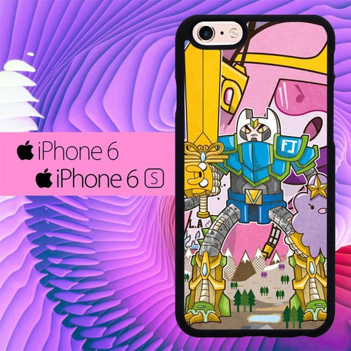 Adventure Time Robot L1156 hoesjes iPhone 6, iPhone 6S