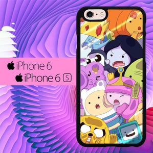 Adventure Time Team L1159 hoesjes iPhone 6, iPhone 6S