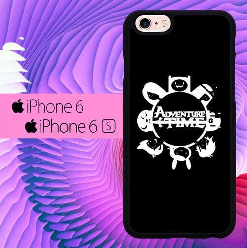 Adventure Time White L1161 hoesjes iPhone 6, iPhone 6S