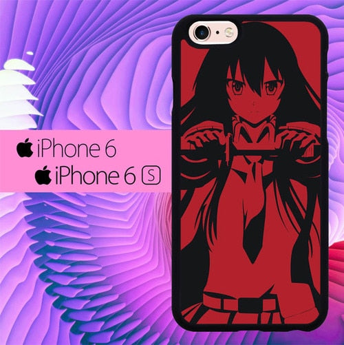 Akame ga Kill Red L1174 hoesjes iPhone 6, iPhone 6S