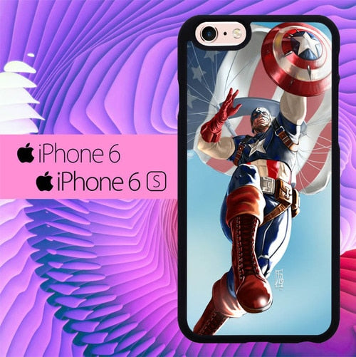 Captian America The First Avenger L1222 hoesjes iPhone 6, iPhone 6S