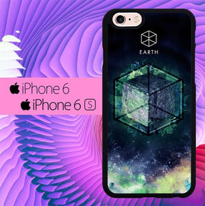 Sacred Geometry Elements L1282 hoesjes iPhone 6, iPhone 6S