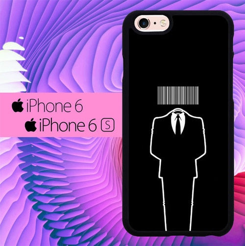 Anonymous Barcode L1374 hoesjes iPhone 6, iPhone 6S