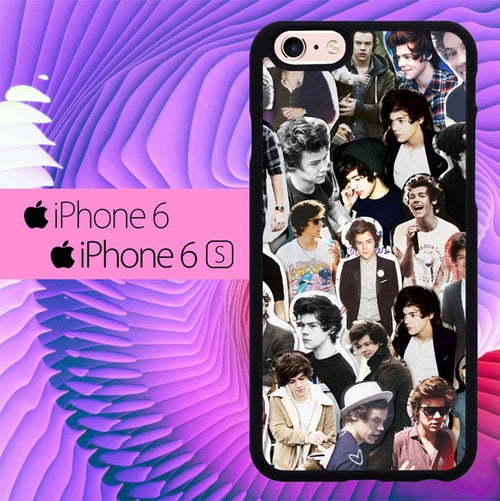 Harry Styles One Direction L1432 hoesjes iPhone 6, iPhone 6S