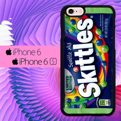 Skittles Seahawks Seattle Mix L1855 hoesjes iPhone 6, iPhone 6S