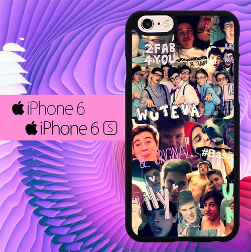 Magcon Boys 2 FAB 4 You L1921 hoesjes iPhone 6, iPhone 6S